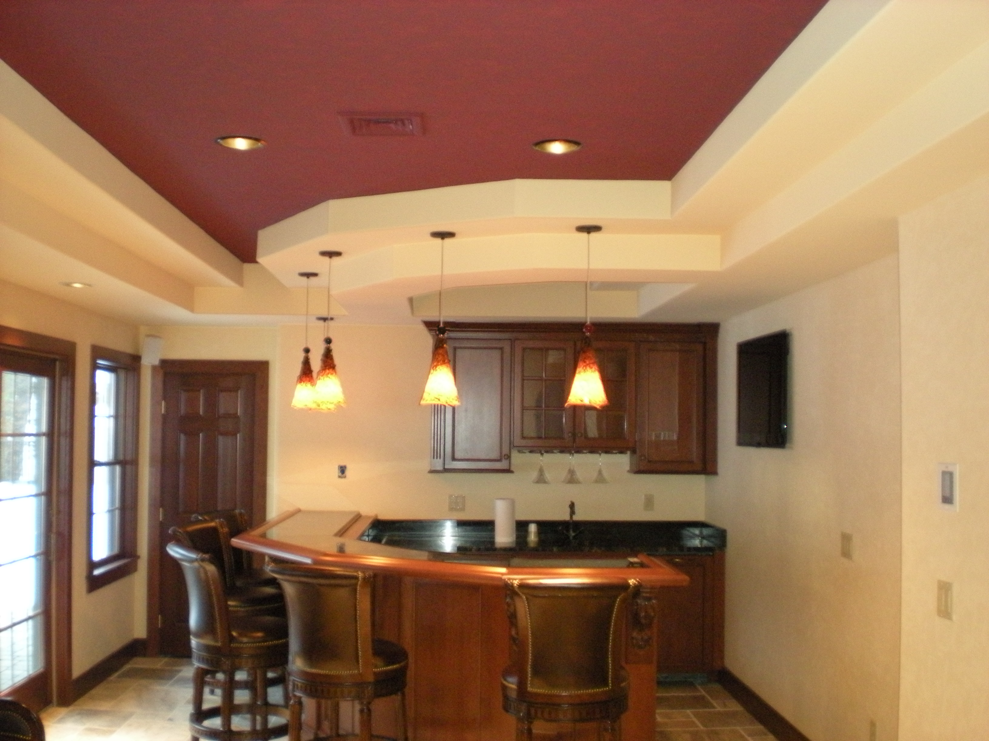 Basement Design Services image may contain indoor Basement Finish Design Photos