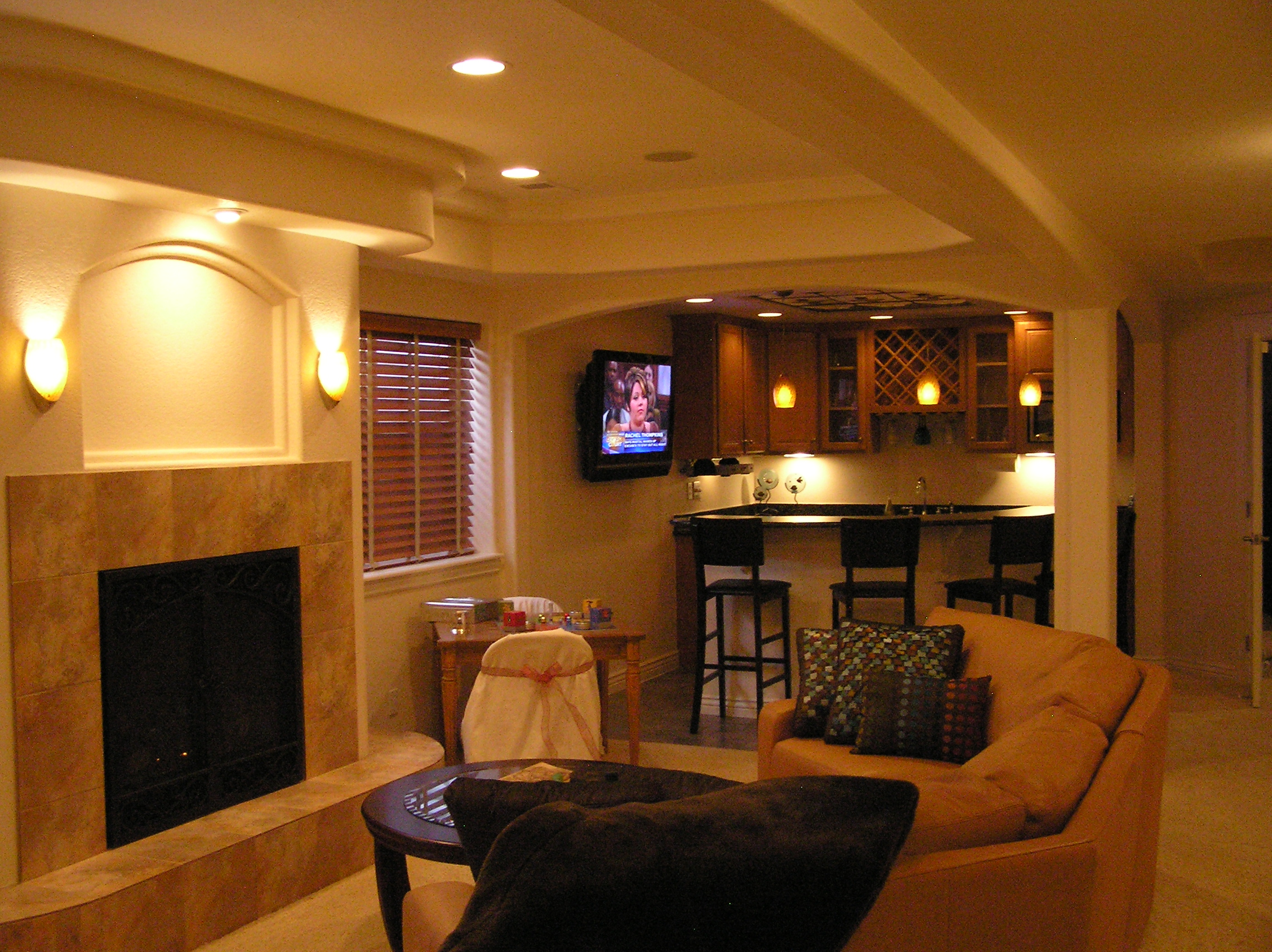 Basement design photos home decoration live - Basements by design ...