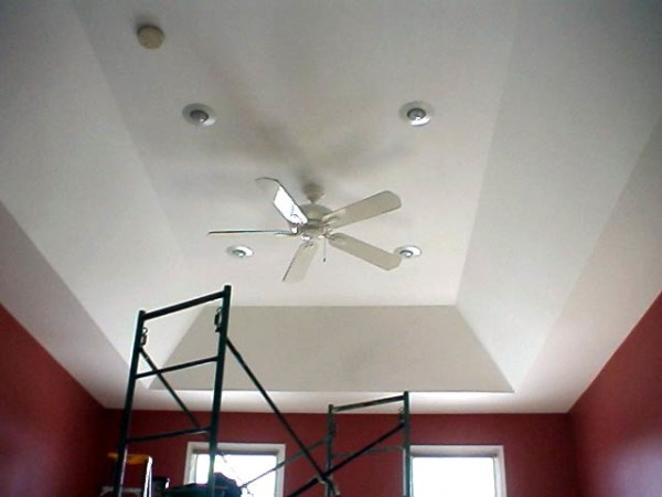 Tray Ceilings Images: Basement Finish Design