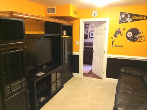 Basement Sports Room and TV 3