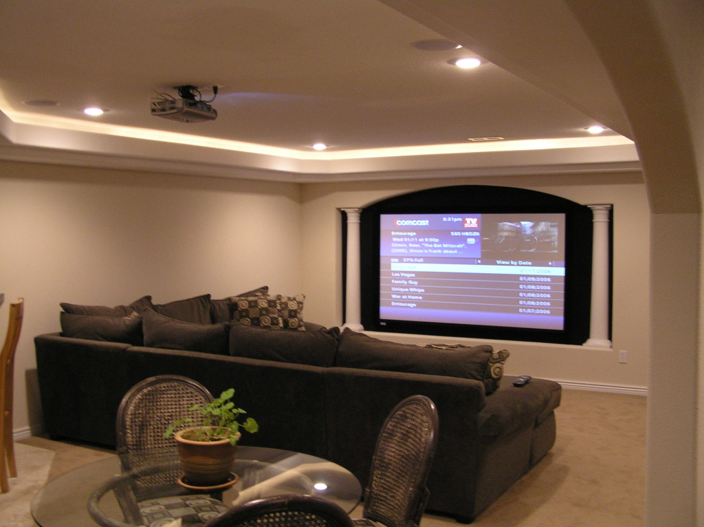 Olympus digital camera basement finish design - Designer basements ...