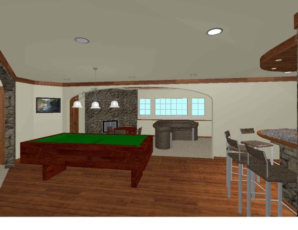 Basement Design In 3d