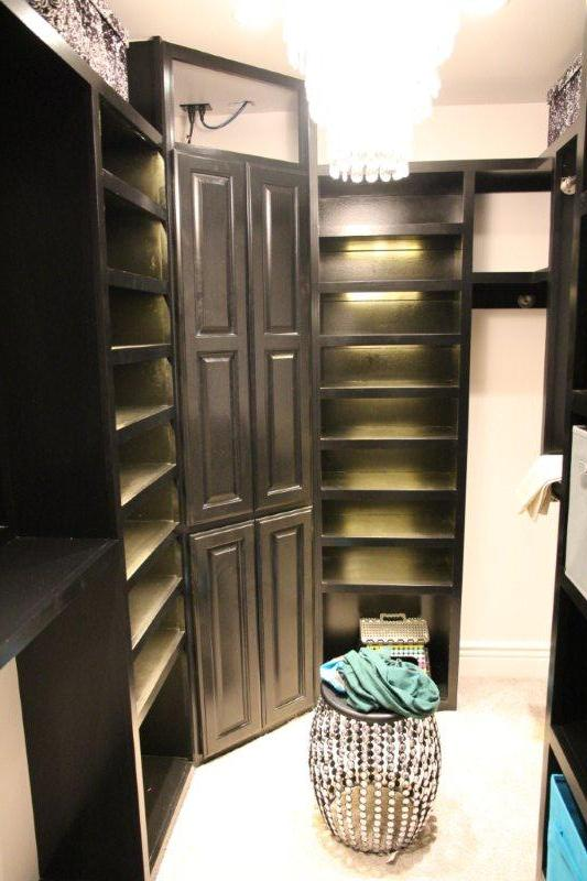 Walk in closet 1 for Basement closet ideas