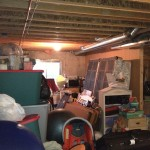 Unorganized Storage & Play Area